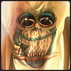 SilkScreen Owl